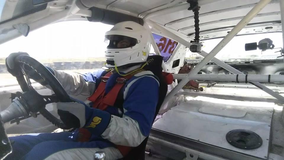 Lance in the JFRT Civic